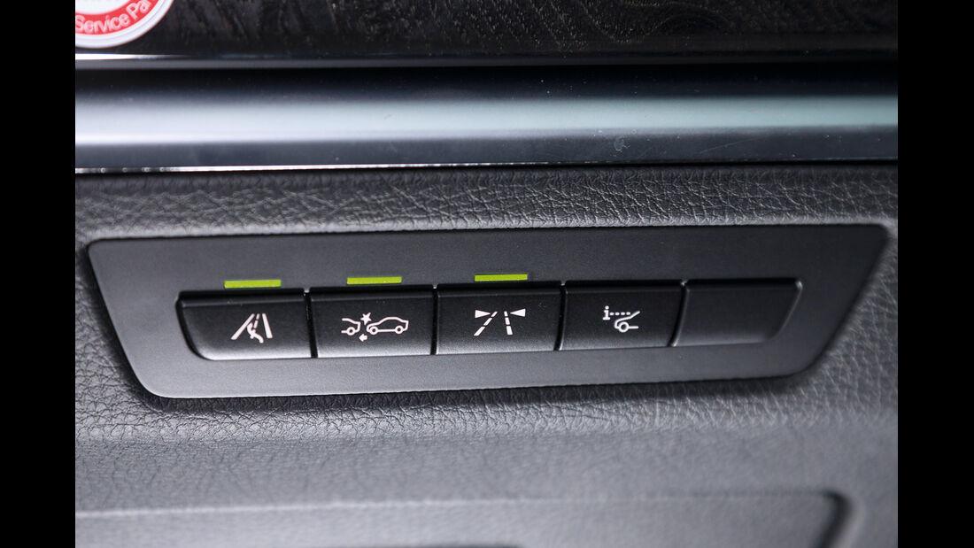 BMW 520d Gran Turismo, Assistenzsysteme, Bedienelemente