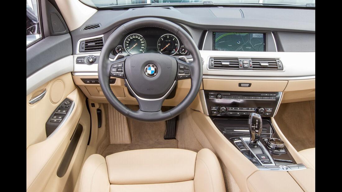 BMW 520d Gran Turismo, Cockpit