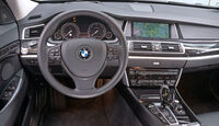 BMW 520d Gran Turismo, Cockpit, Lenkrad
