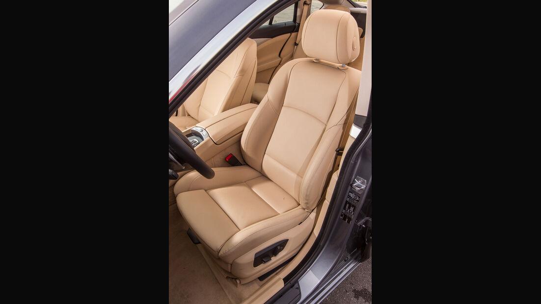 BMW 520d Gran Turismo, Fahrersitz