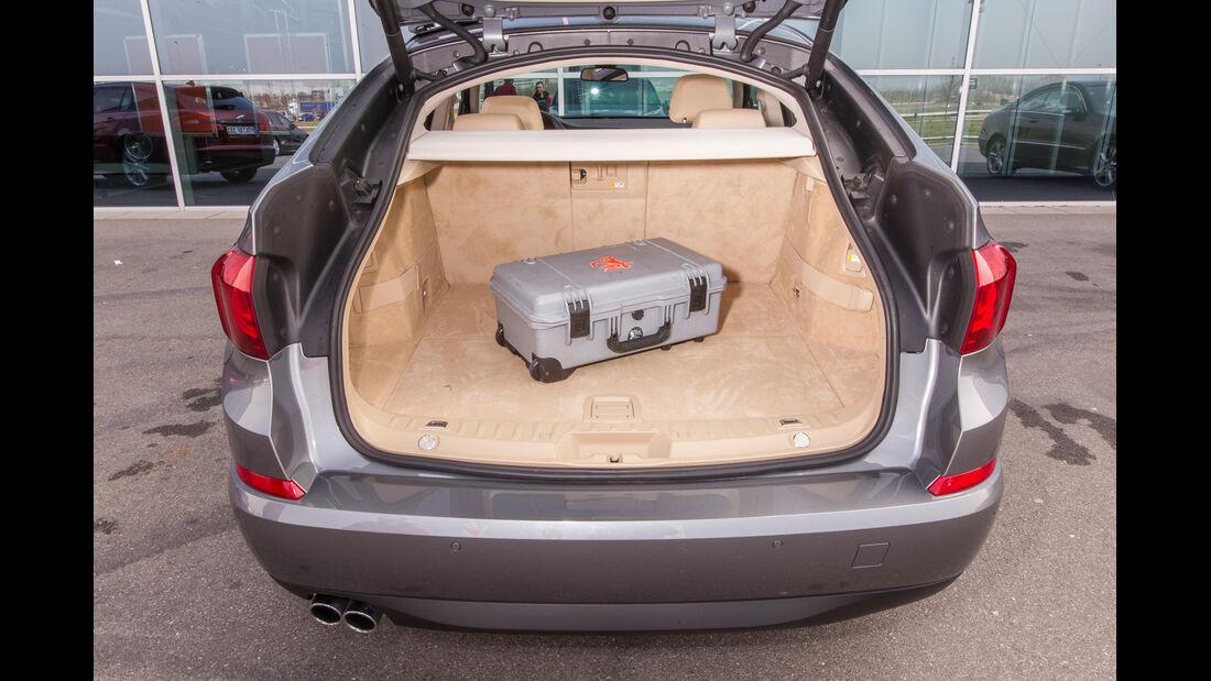 BMW 520d Gran Turismo, Kofferraum