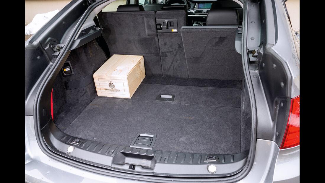 BMW 520d Gran Turismo, Kofferraum, Ladefläche