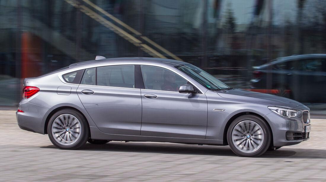 BMW 520d Gran Turismo, Seitenansicht