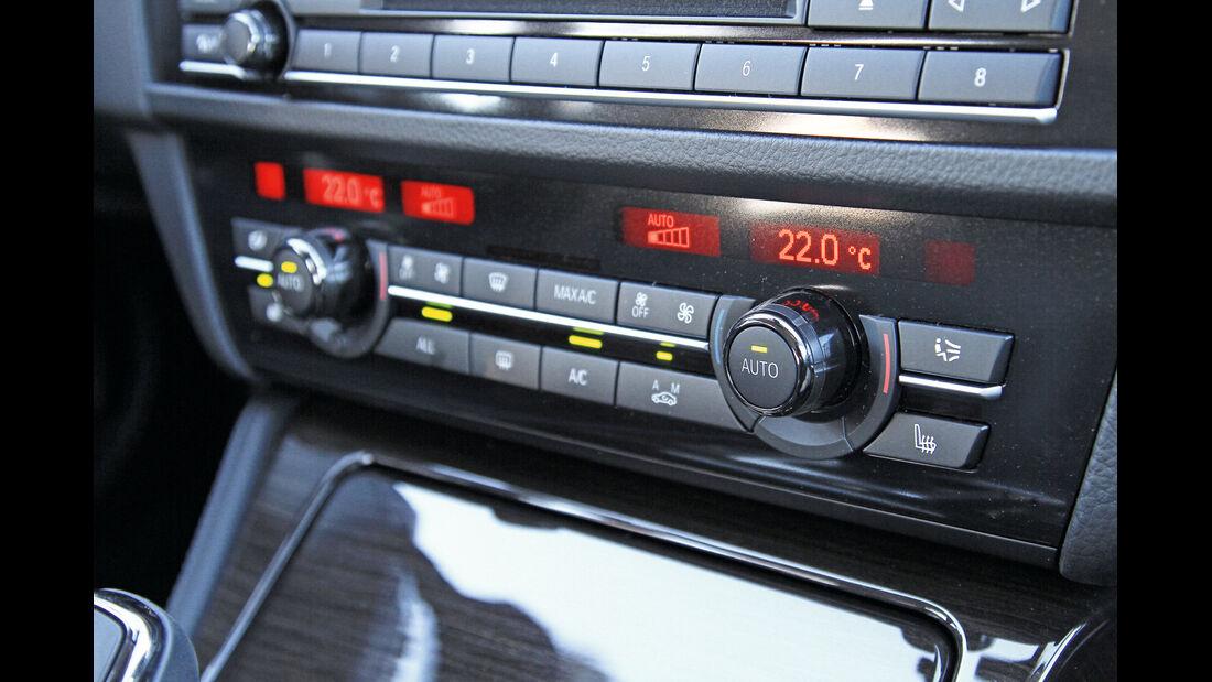 BMW 520d, Heizung