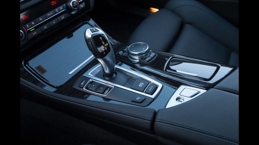 BMW 520d, Schalthebel