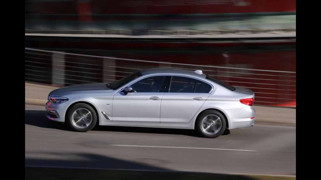BMW 520d, Seitenansicht