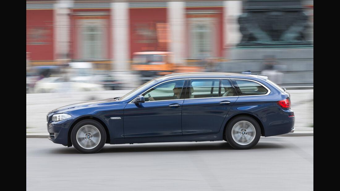 BMW 520d TOURING, Seitenansicht
