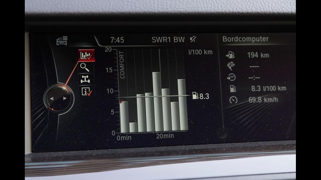 BMW 520d Touring, Bordcomputer, Display