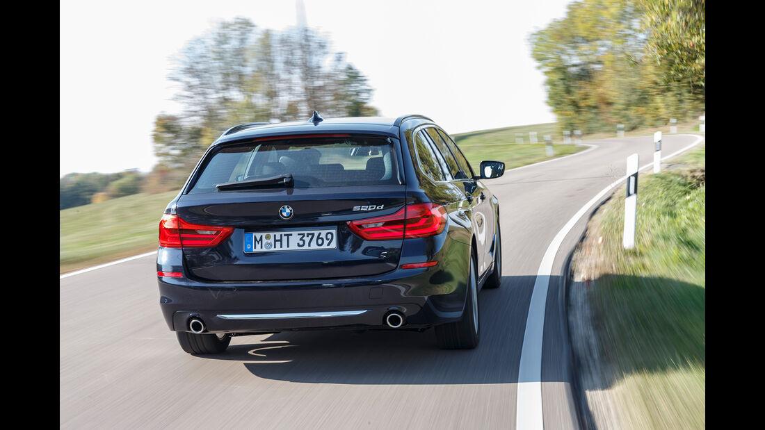 BMW 520d Touring, Exterieur