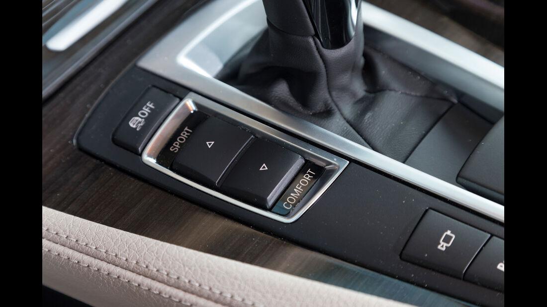 BMW 520d Touring, Fahreinstellung