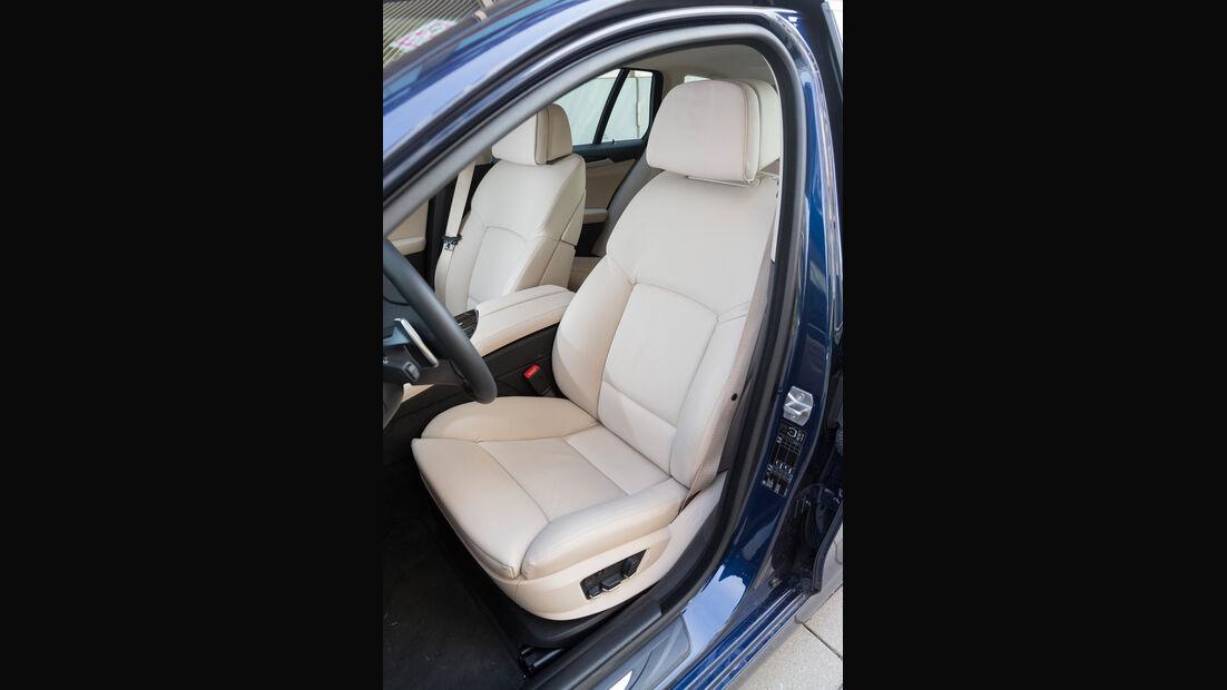 BMW 520d Touring, Fahrersitz