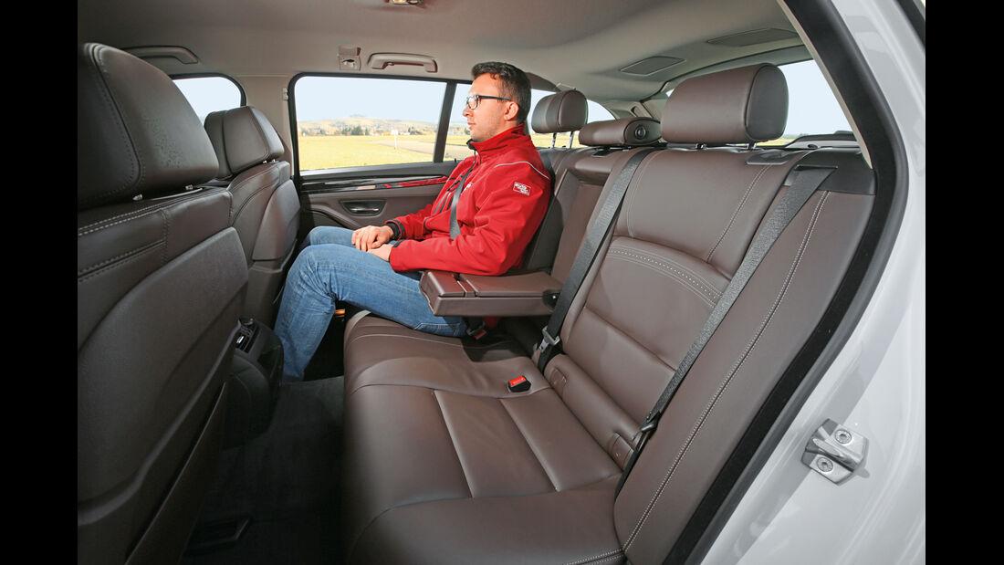 BMW 520d Touring, Fondsitz
