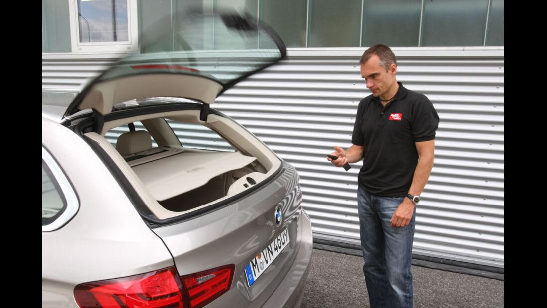 BMW 520d Touring, Heckklappe