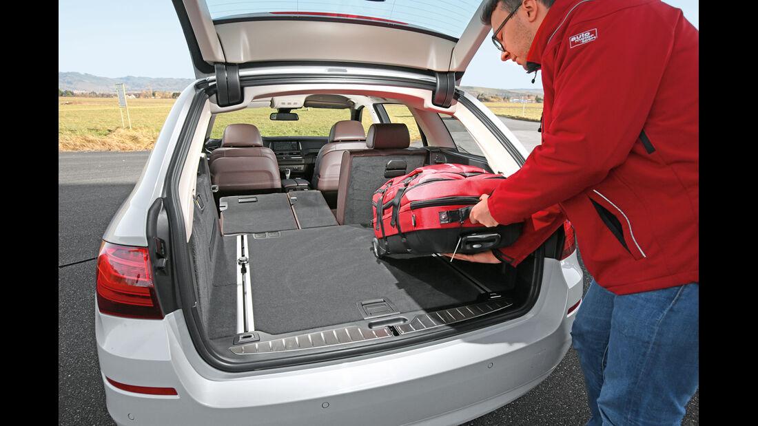 BMW 520d Touring, Kofferraum