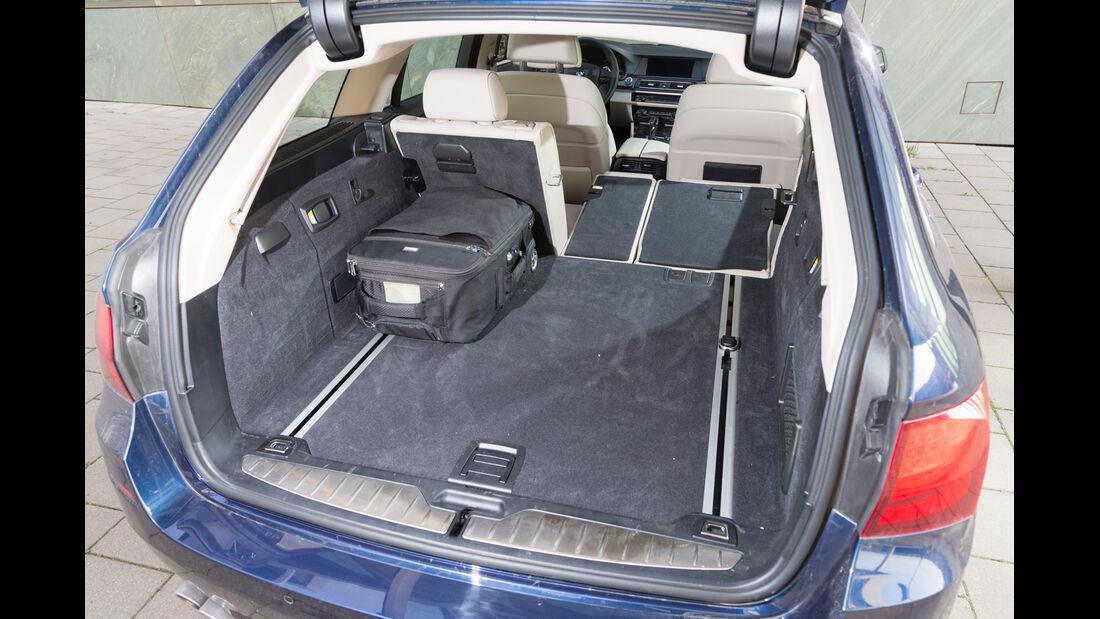 BMW 520d Touring, Kofferraum, Ladefläche