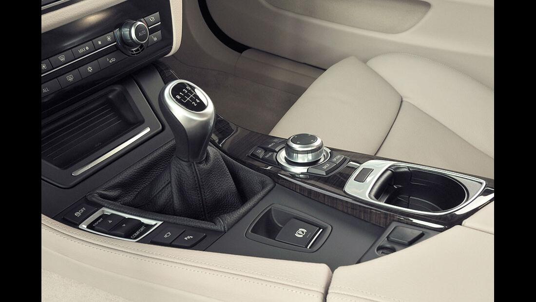 BMW 520d Touring, Mittelkonsole