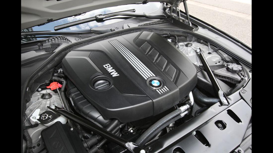 BMW 520d Touring, Motor