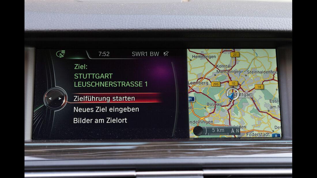 BMW 520d Touring, Navi, Display