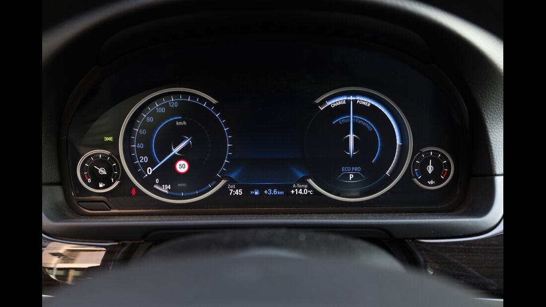 BMW 520d Touring, Rundinstrumente