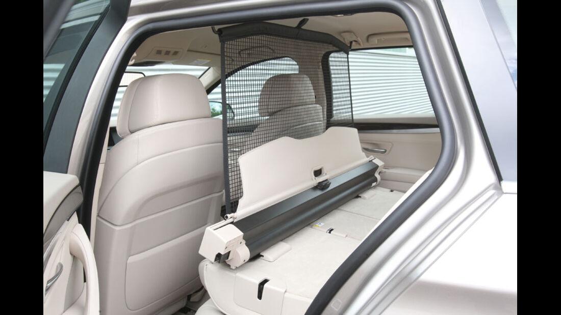 BMW 520d Touring, Trennnetz