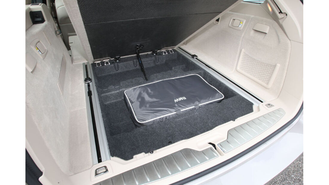 BMW 520d Touring, Unterboden