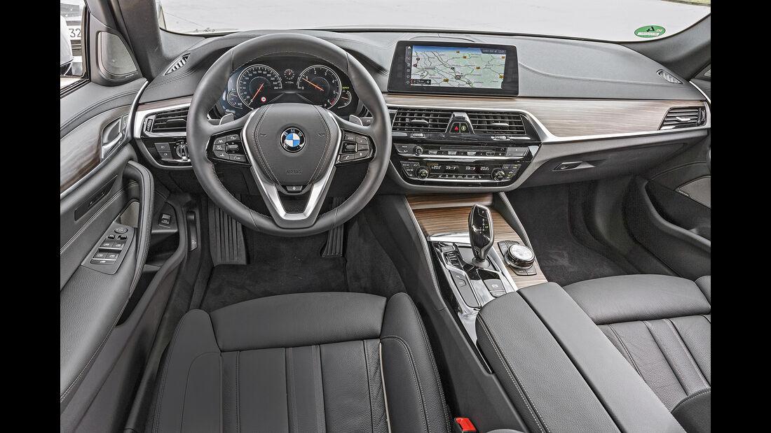 BMW 520d, interieur
