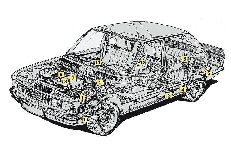 BMW 520i (E28)