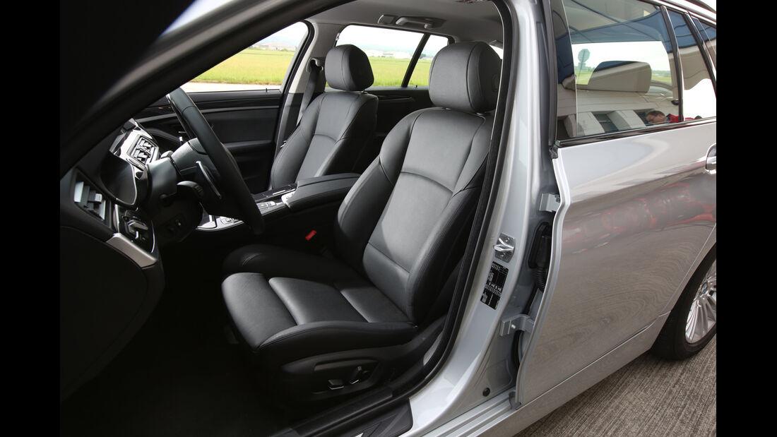 BMW 520i Touring, Fahrersitz