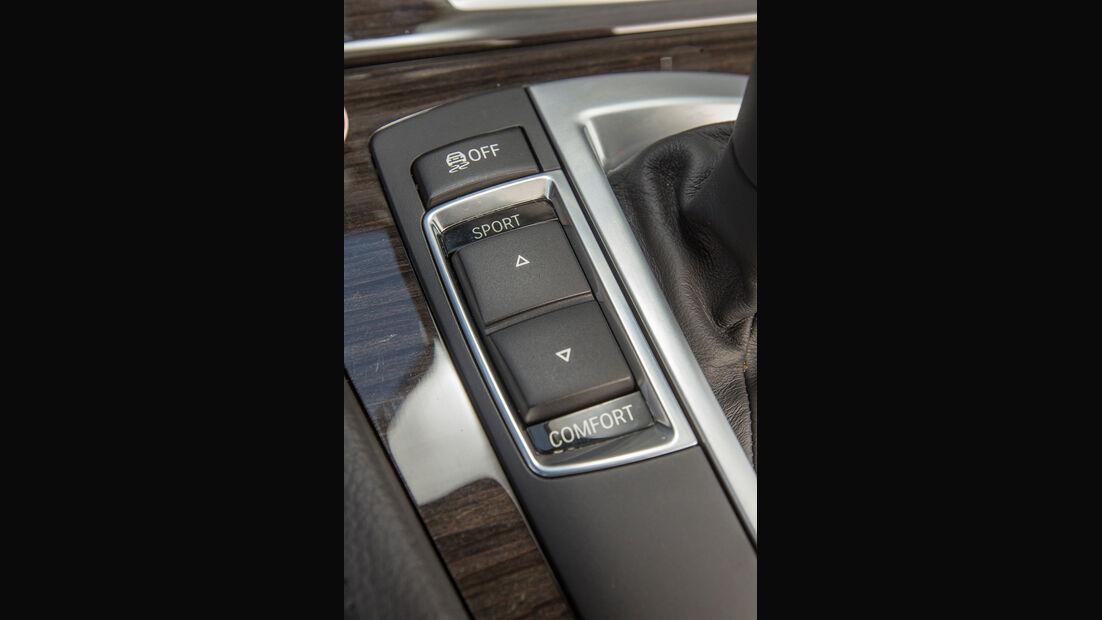 BMW 520i Touring, Fahrmodi, Bedienelement