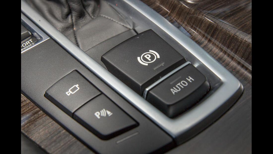 BMW 520i Touring, Feststellbremse