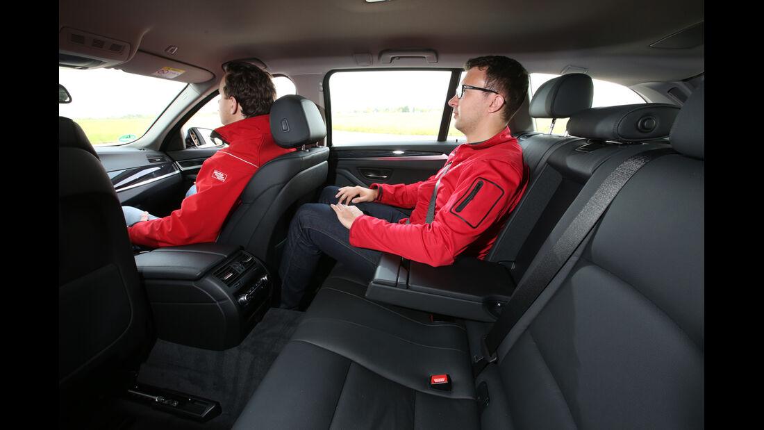 BMW 520i Touring, Fondsitz