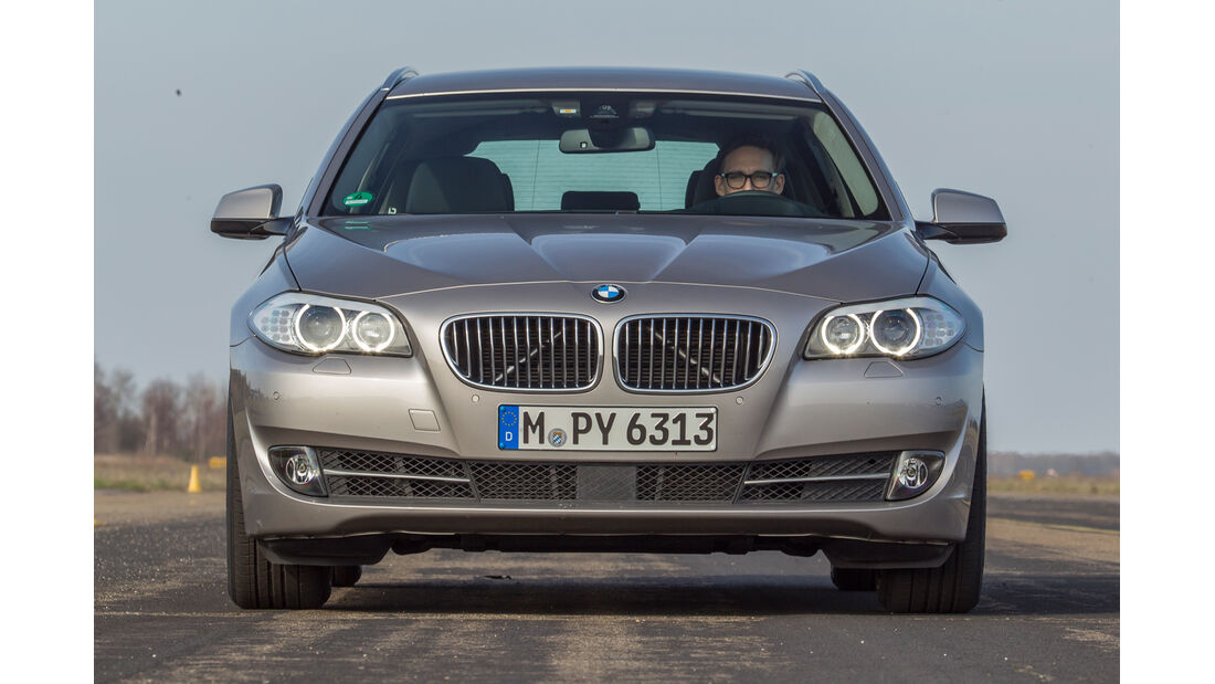 BMW 520i Touring, Frontansicht