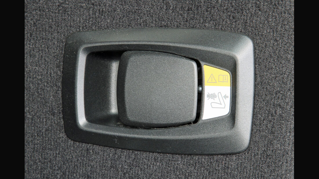 BMW 520i Touring, Hebel, Bedienelement