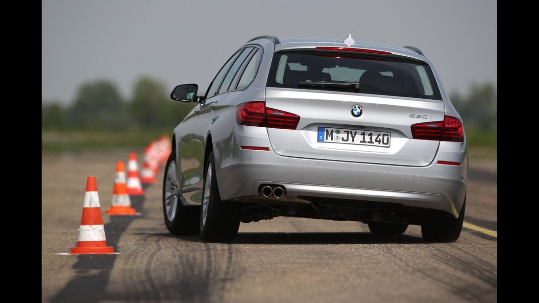 BMW 520i Touring, Heckansicht
