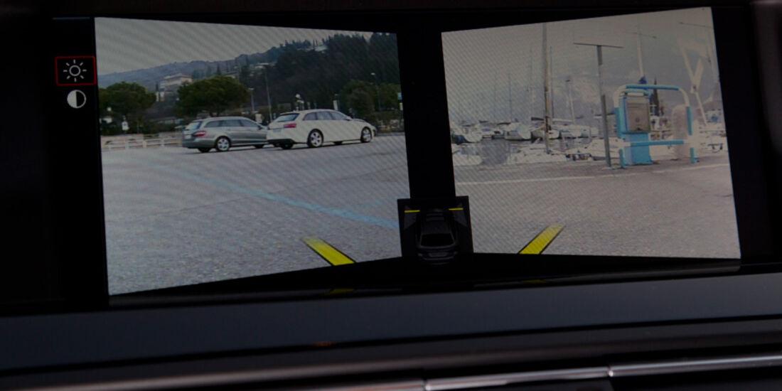 BMW 520i Touring, Kamera-Display