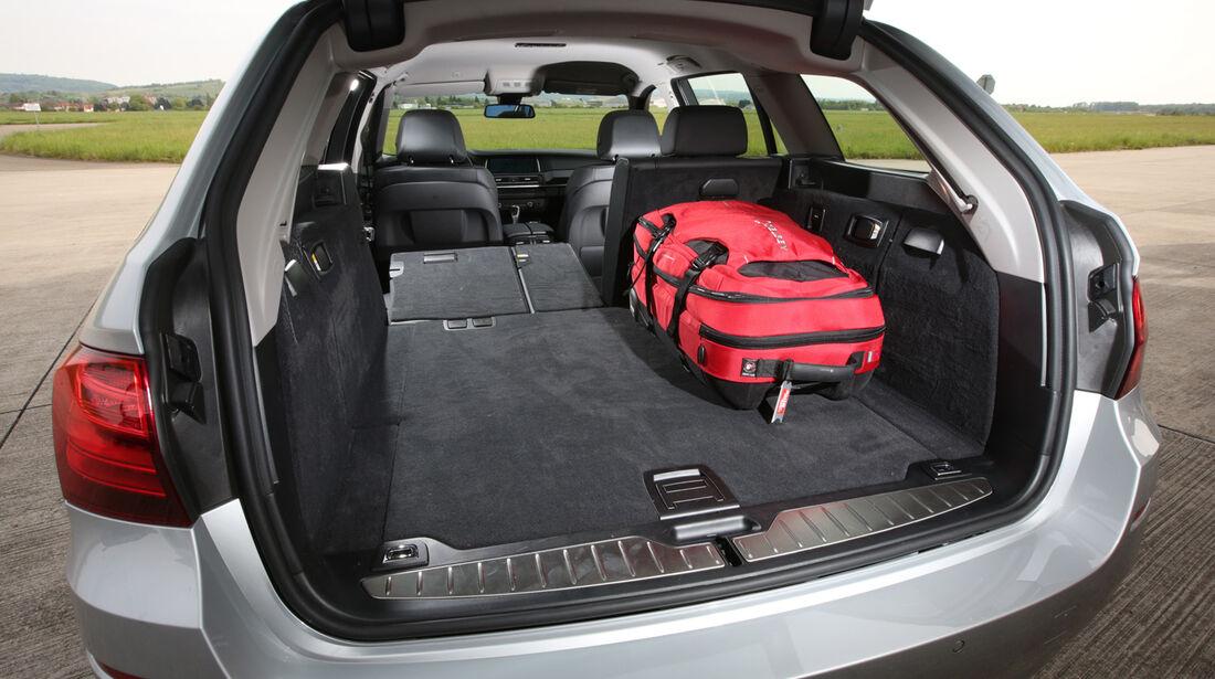 BMW 520i Touring, Kofferraum