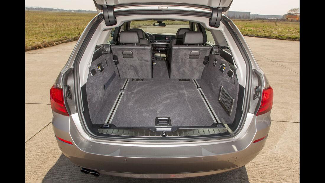 BMW 520i Touring, Ladefläche