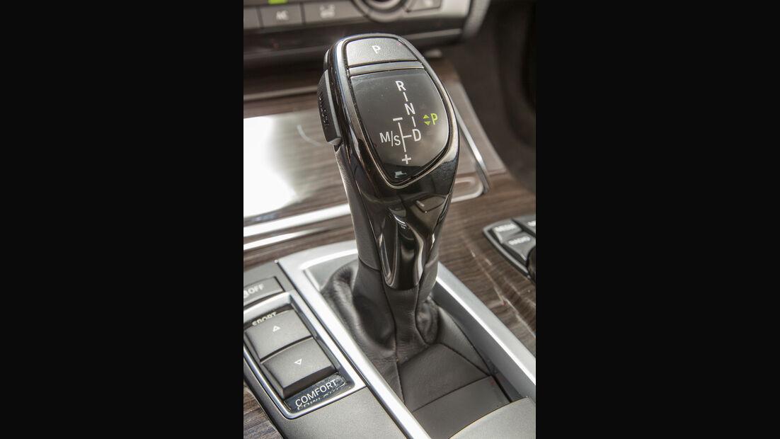 BMW 520i Touring, Schalthebel, Schaltknauf