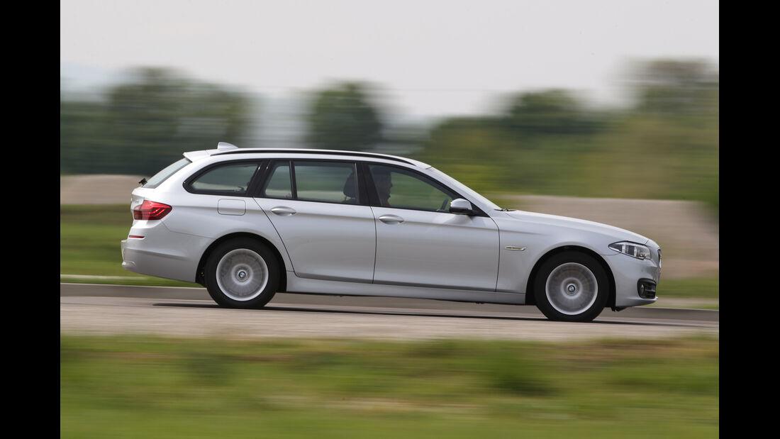 BMW 520i Touring, Seitenansicht