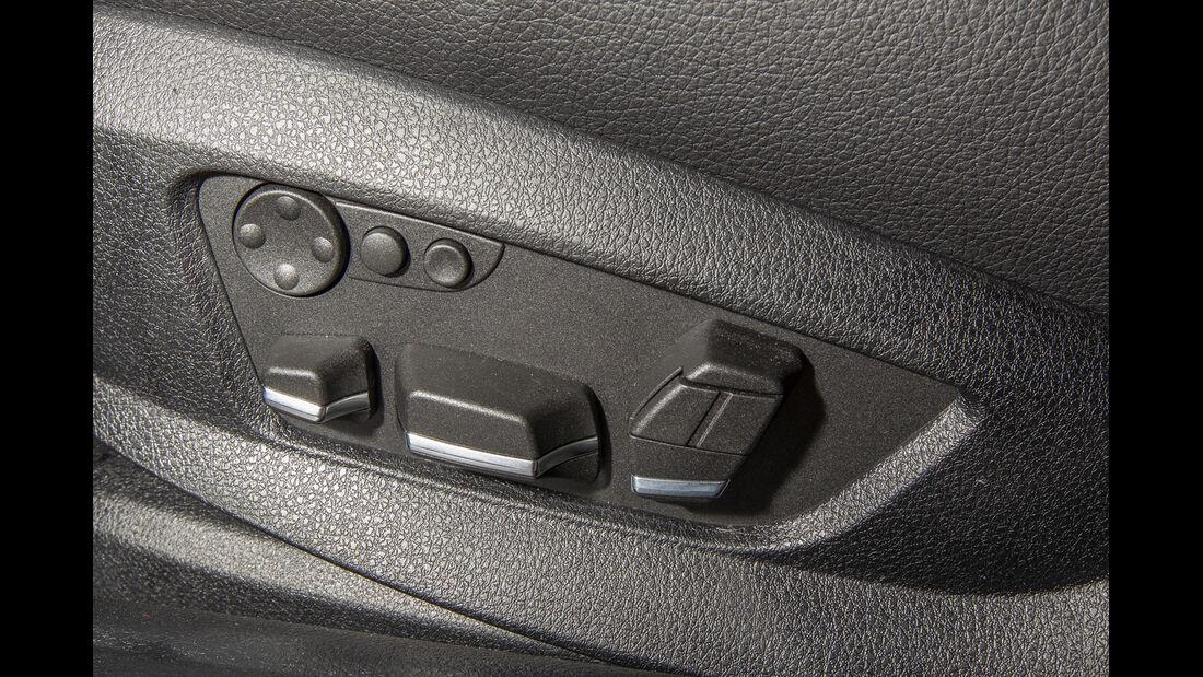 BMW 520i Touring, Seitentür, Bedienelemente