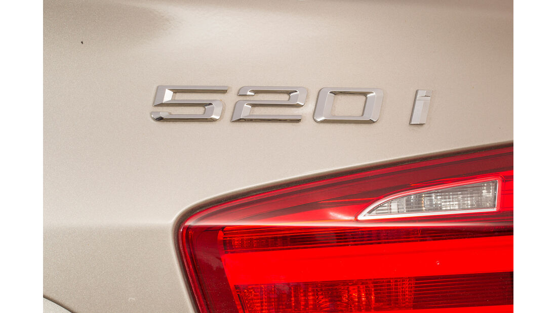 BMW 520i Touring, Typenbezeichnung