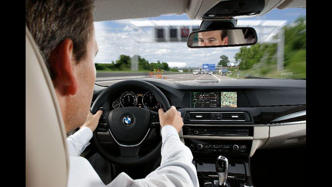 BMW 523i Armaturenbrett