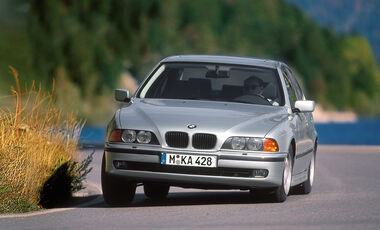 BMW 523i E39, Frontansicht