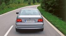BMW 523i E39, Heckansicht