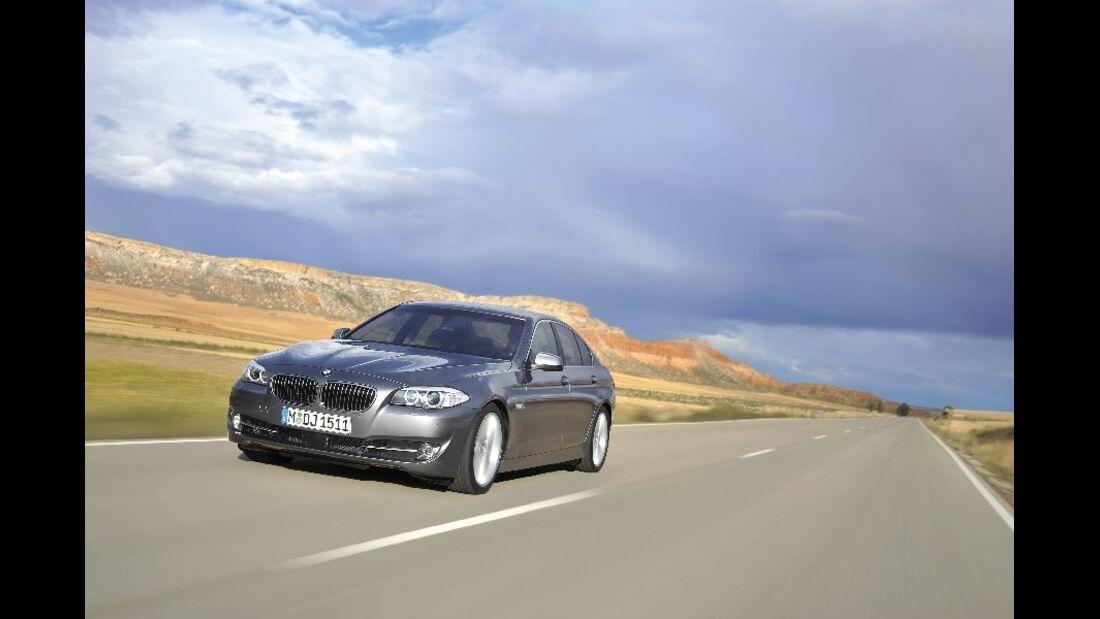 BMW 523i Front Fahraufnahme