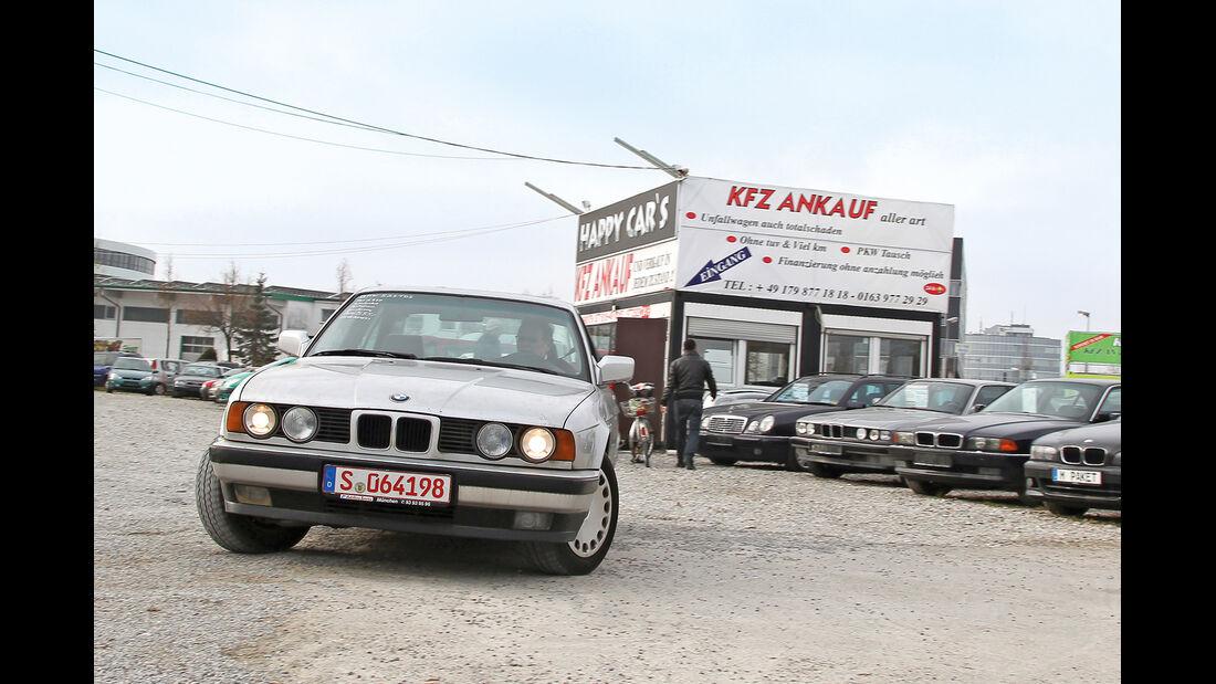 BMW 524 TD, Frontansicht