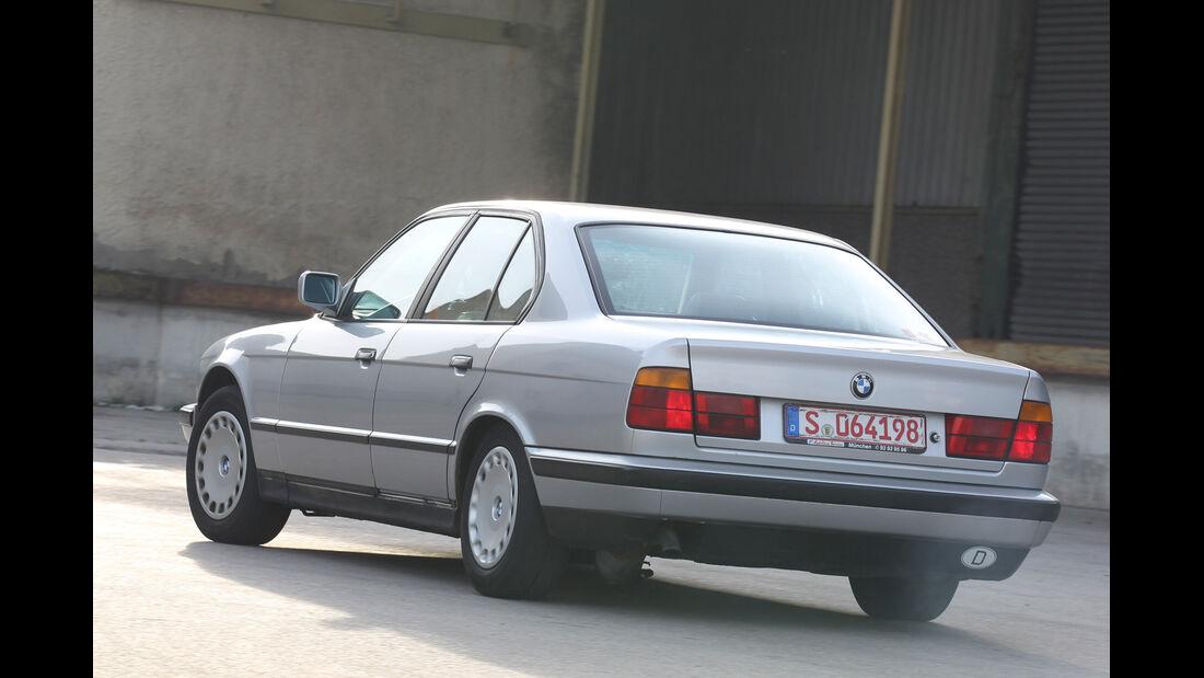 BMW 524 TD, Heckansicht