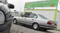 BMW 524 TD, Seitenansicht