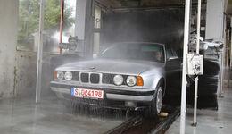 BMW 524 TD, Waschstraße