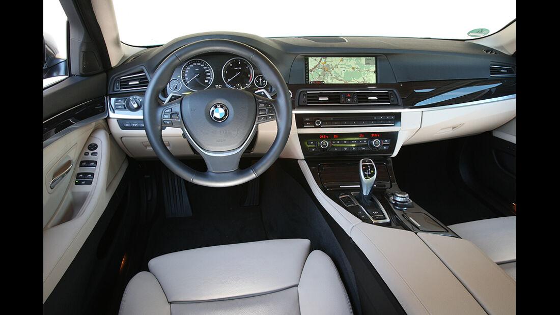 BMW 525d, Cockpit